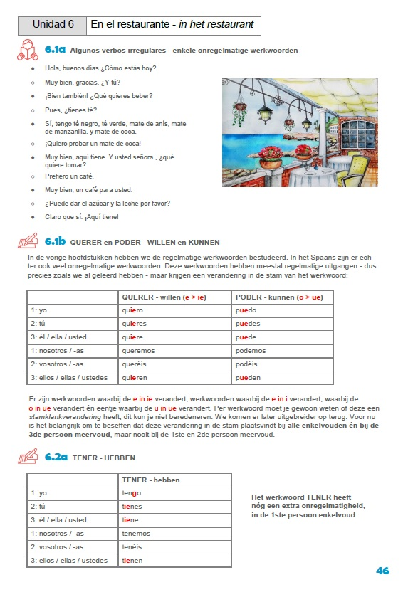 Lesboek Spaans, hoofdstuk 6